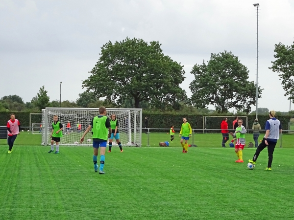 In oktober en november twee extra G-voetbal trainingen