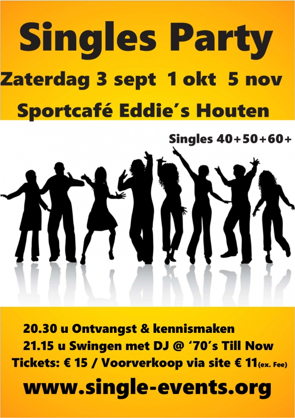 Single Party bij Eddie's