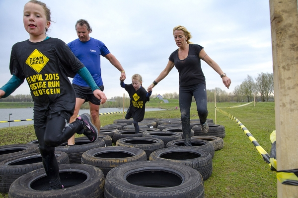 Down Under Obstacle en Kids Run