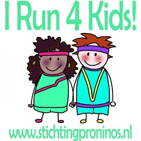"Loop mee in het team ""I Run 4 kids"" Dam tot Damloop"