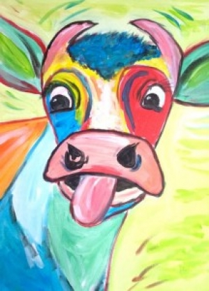 ArtPub: Craxy Cow