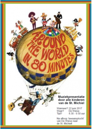 Muziekpresentatie: 'Around the world in 80 minutes'