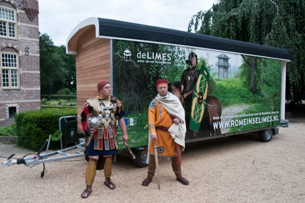 Romeinse MobiLimes geopend