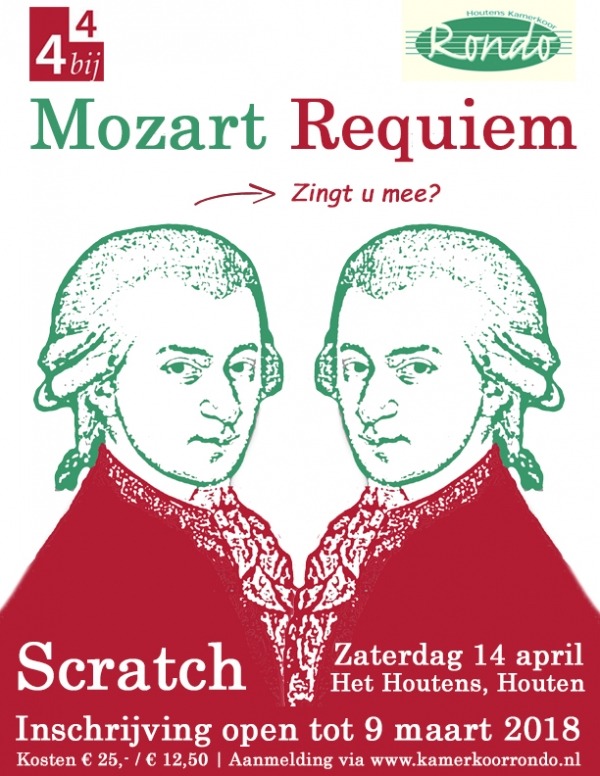 Scratch Requiem van Mozart