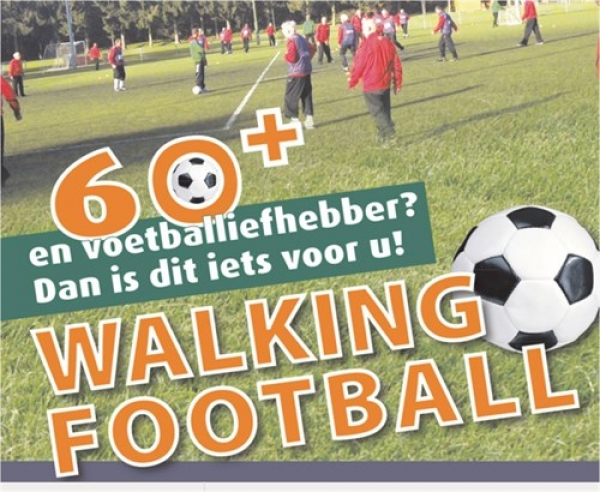 Walking Football voor 60 plus