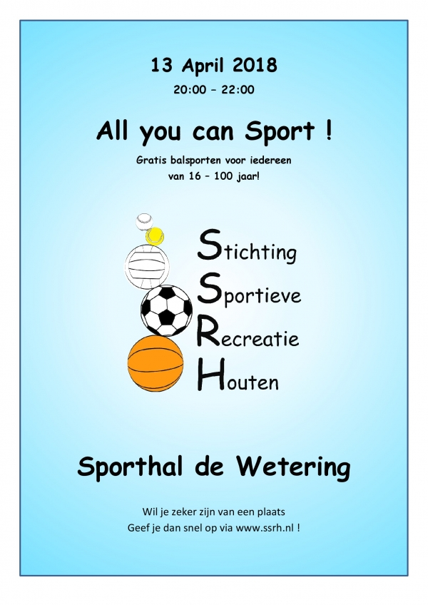 All you can Sport!