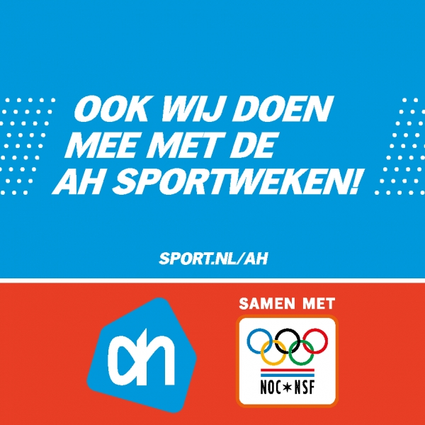 AH Sportactie 2018 start 17 september