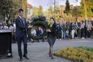 Nationale Dodenherdenking in Schalkwijk