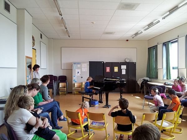 Open les piano-oortjes