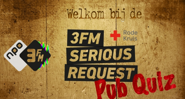 Pubquiz voor Serious Request