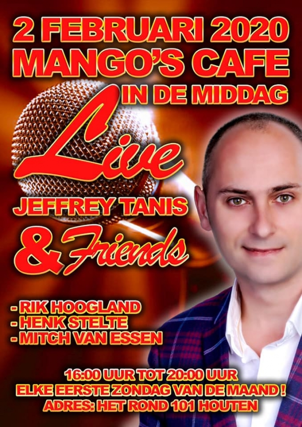Mango's Cafe Live in de Middag
