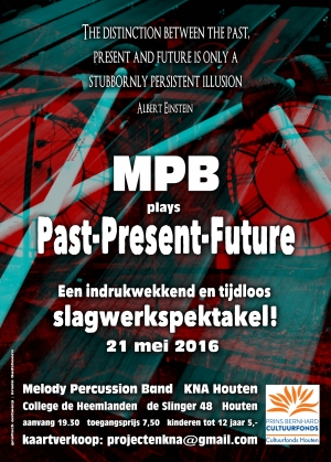 Past Present Future concert Melody Percussion Band
