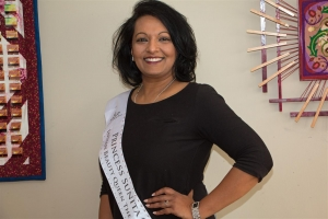 Sunita Chote, Finaliste Indian Beauty Queen met een missie