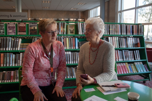 Tabletcafé in de Bibliotheek